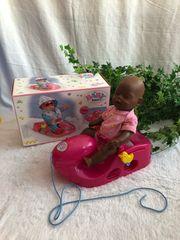 Baby Born Pinker Glitzer Schlitten