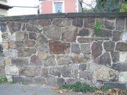 Sandsteinmauer zu verkaufen