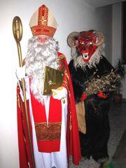 Den Nikolaus und Krampus buchen