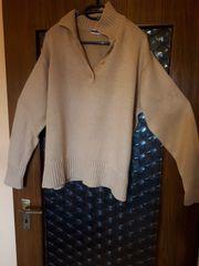 Winter-Pullover Gr 48 50 camel