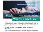 Junior Softwareentwickler Web m w