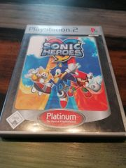 Playstation 2 Sonic Heroes Platinum