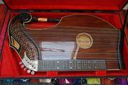 Harfenzither aus einer bayrischen Meisterwerkstatt