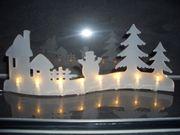 LED Lichterbogen Weihnachts Deko beleuchtet