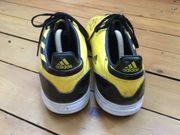 Adidas F50 Fußballschuhe gelb schwarz