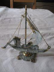 Madeira kleines Modell Schiff Segelschiff
