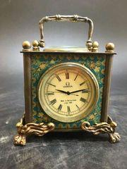 Mechanische Tisch Uhr Thermometer Kompass