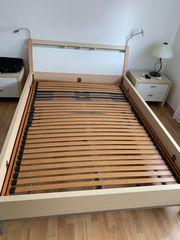Schlafzimmer komplett Bett Schrank Sideboards