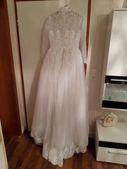 Islamisches Hochzeitskleid Gr M Weiß
