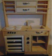 Kinderholzküche Holzkinderküche