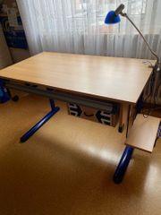 Schreibtisch Jugendschreibtisch Computerschreibtisch höhenverstellbar