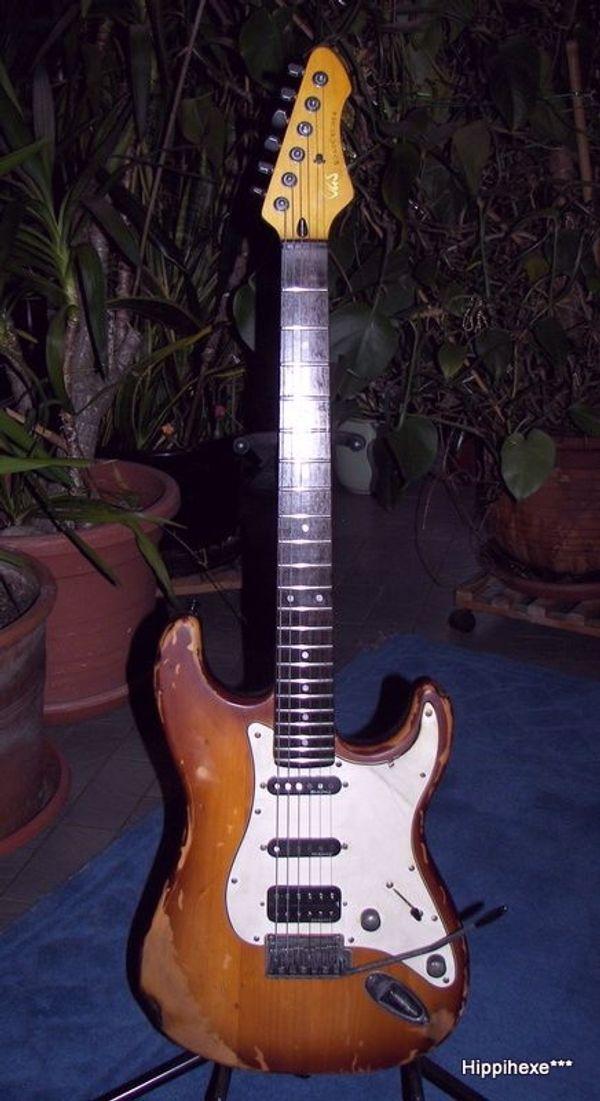 Verkaufe tolle Stratocaster E-Gitarre VGS