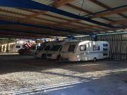 Stellplatz für Wohwagen Wohnmobil Boote