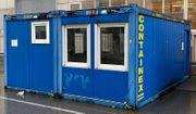 Doppelcontainer Baustellencontainer Bürocontainer Gartencontainer