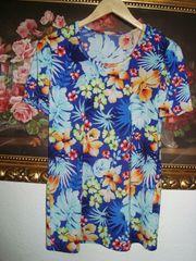 Vintage Blumenshirt Gr 36 38