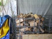 Brennholz Buche gespalten für Winter