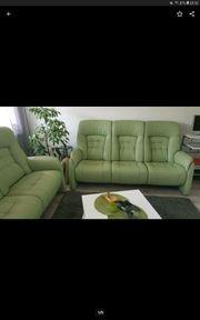 Echt Lder Sofa 3 Sitzer