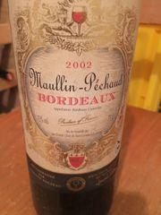 Wein Maullin-Pechaud 2002 Bordeaux