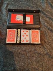 Spielkartenset neuwertig Romme Bridge Canasta