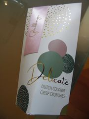 Geschenk Glücksbringer Pralinen Delicate Schokoladen-Kokos-Konfekt