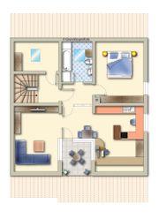 2 5-3-Zimmer-DG-Wohnung mit Einzelgarage in
