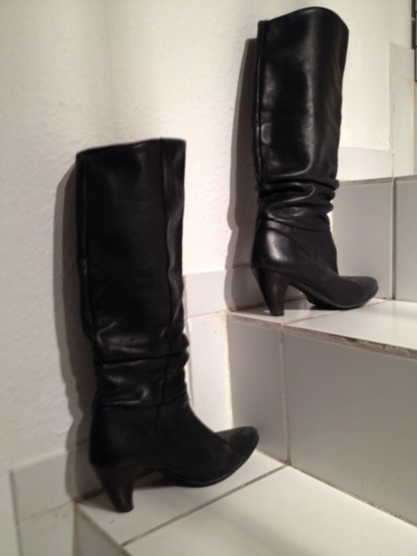 Stiefel schwarz Buffalo Gr 38
