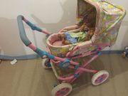 Babyborn Puppenwagen und Babyborn Puppe