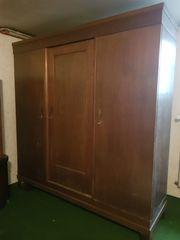 Antiker Kleiderschrank Schlafzimmerschrank 1950 - Großer