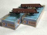 Roco 2305 Niederbordwagen der DB