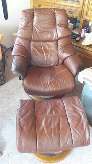 Verkaufe gebr original Stressless-Sessel mit
