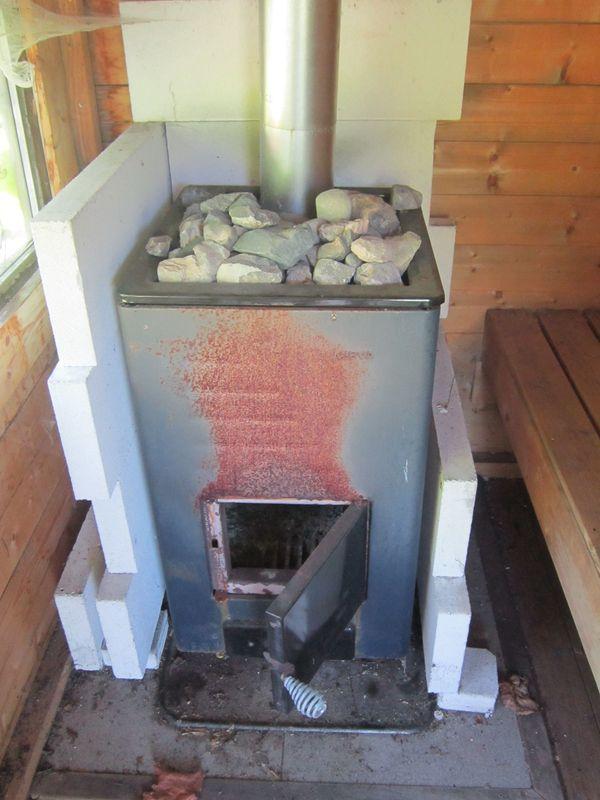 finnischer Saunaofen