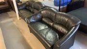 2x Sofa Leder - L14125