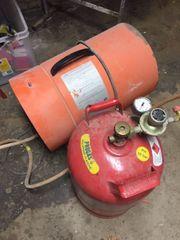 Hallenheizgerät Gasheizung Baustellenheizgerät 23kW