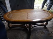 Rustikaler Alter Holztisch