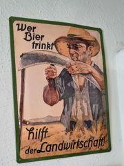 Emailschild - wer Bier trinkt hilft