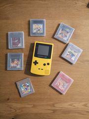 Gameboy Color 7 Spiele