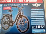 Universal-Elektro-Citybike 26 Zoll