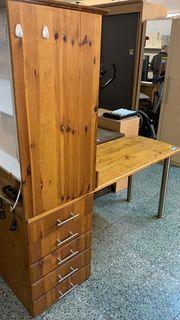 Schreibtisch-Regal-Kombi - LD30037