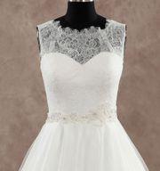 Brautkleid Hochzeit - A-Linie in 36