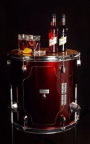 DIY Minibar aus Standtom Drums