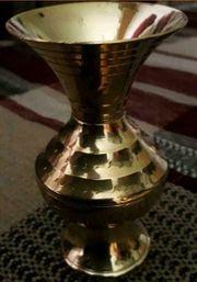 Messing Vase 10 cm hoch