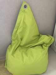 Sitzsack in Kermit Grün