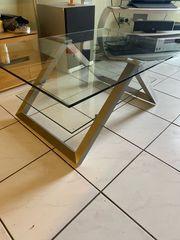 Glastisch 110x60cm