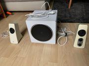Logitech Lautsprecherset Z523 weiß