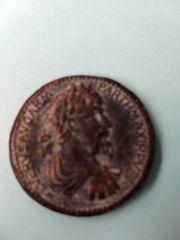 Antike Römische Münze LVERVSAVGARM PARTHMAXIRPV