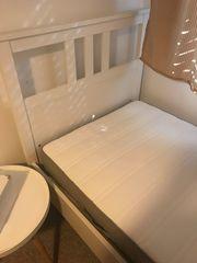 IKEA Hemnes Einzelbett weiß incl