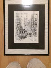 Kunstdruck Don Davey Calif Street