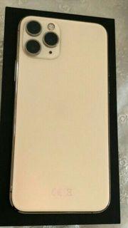 I Phone Pro Farbe Gold