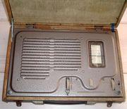 Röhrenradio eines der ersten tragbaren