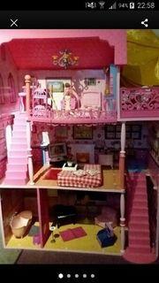 Grosses Puppen Barbiehaus